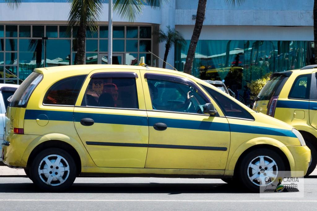 Táxi como meio de transporte