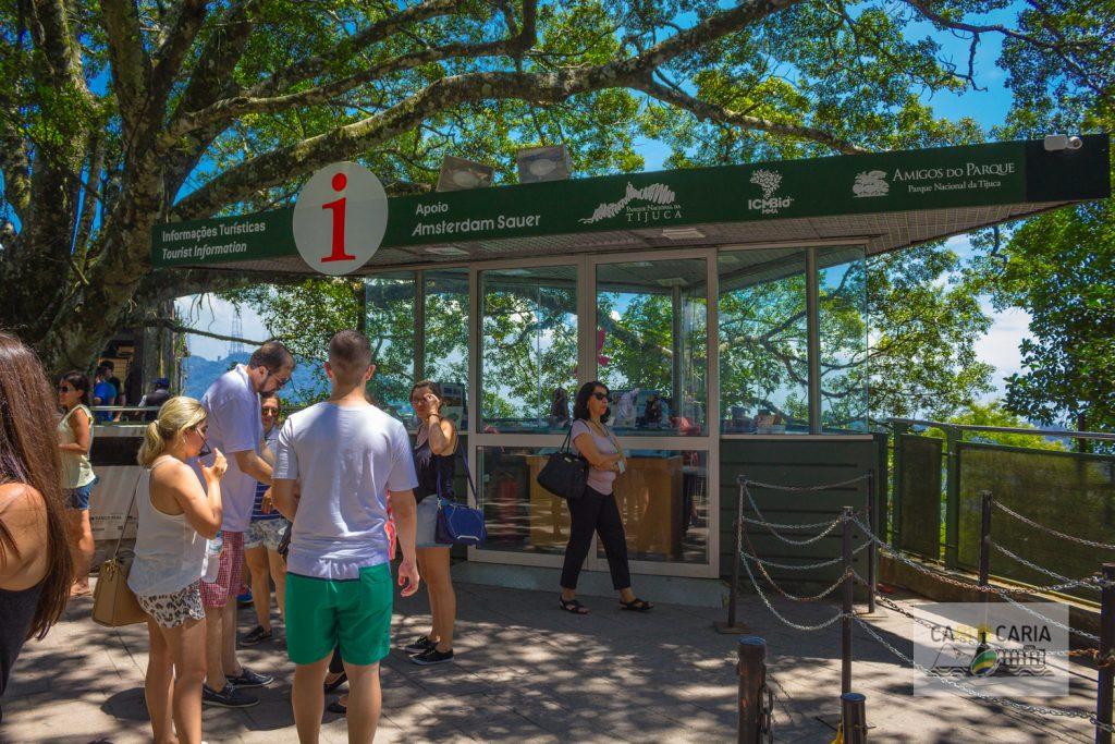 Balcão de informações turísticas