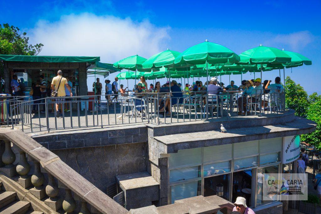 Restaurante e Lanchonete no topo do Corcovado