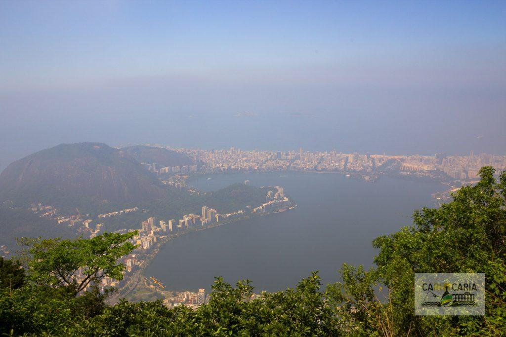 Rio de Janeiro com névoa
