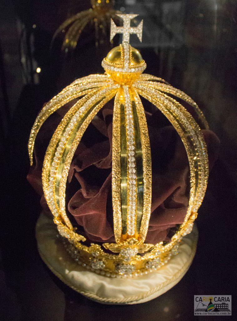 Réplica Coroa D. Pedro II