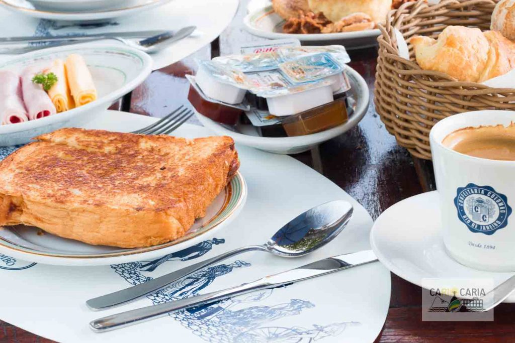 Chá da Tarde na Confeitaria Colombo - Café do Forte