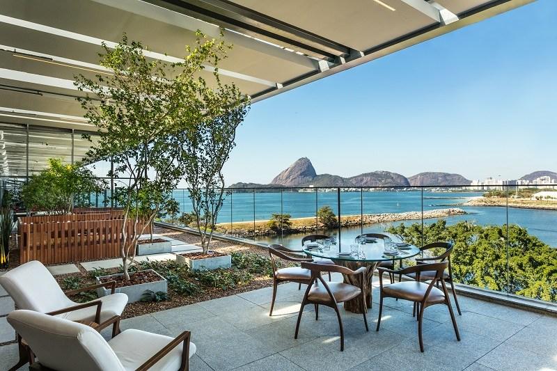 Lounge do Xian Rio. Reprodução do site Oba Gastronomia